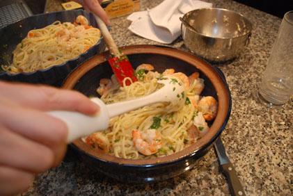 Stylish Cuisine Linguine With Shrimp Scampi
