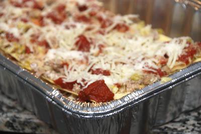 Lasagna To Go