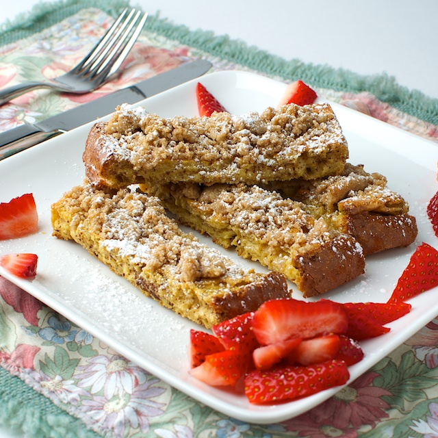 Baked Streusal French Toast