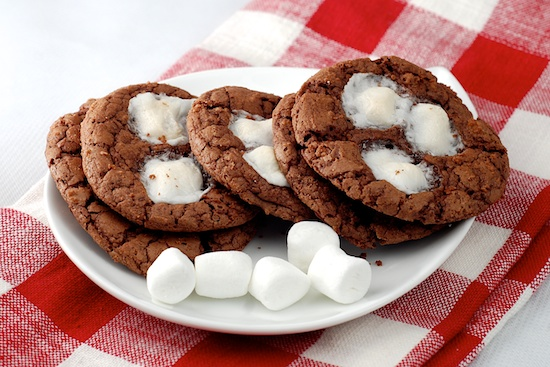 choc marshmallow cookie