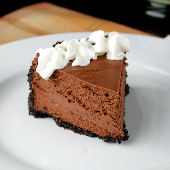 Stylish Cuisine « Triple Chocolate Cheesecake