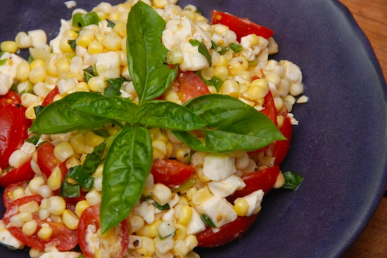 Raw corn recipes