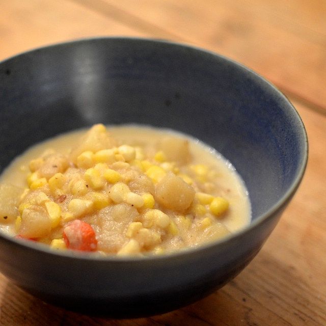 corn chowda