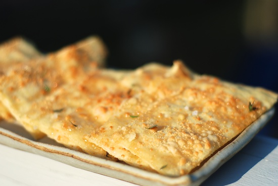 Stylish Cuisine « Crisp Flatbread with Honey, Thyme and Sea Salt