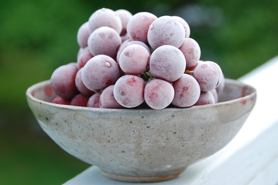 frozen grapes 1