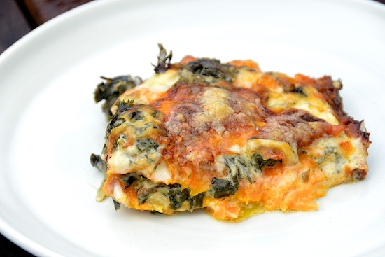 Stylish Cuisine « Swiss Chard and Sweet Potato Gratin