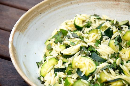 Stylish Cuisine « Orzo and Zucchini Salad