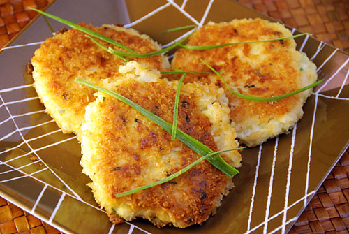 Mini Kale And Goat Cheese Risotto Cakes Recipes — Dishmaps