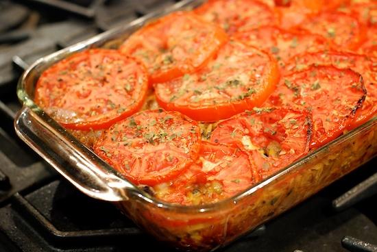Stylish Cuisine « Baked Orzo with Mozzarella and Oregano