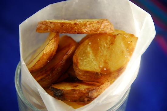 Stylish Cuisine « Grilled Potato Slices with Salt and Vinegar